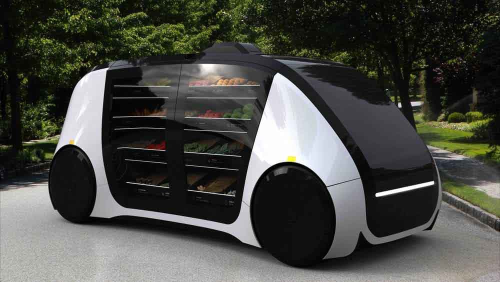 Pakistani Entrepreneur Launches Self Driving Grocery Car Startup in US