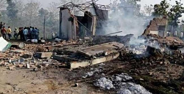 Balaghat, MP, Madhya Pradesh, cracker factory, Blast in cracker factory, balaghat madhya pradesh