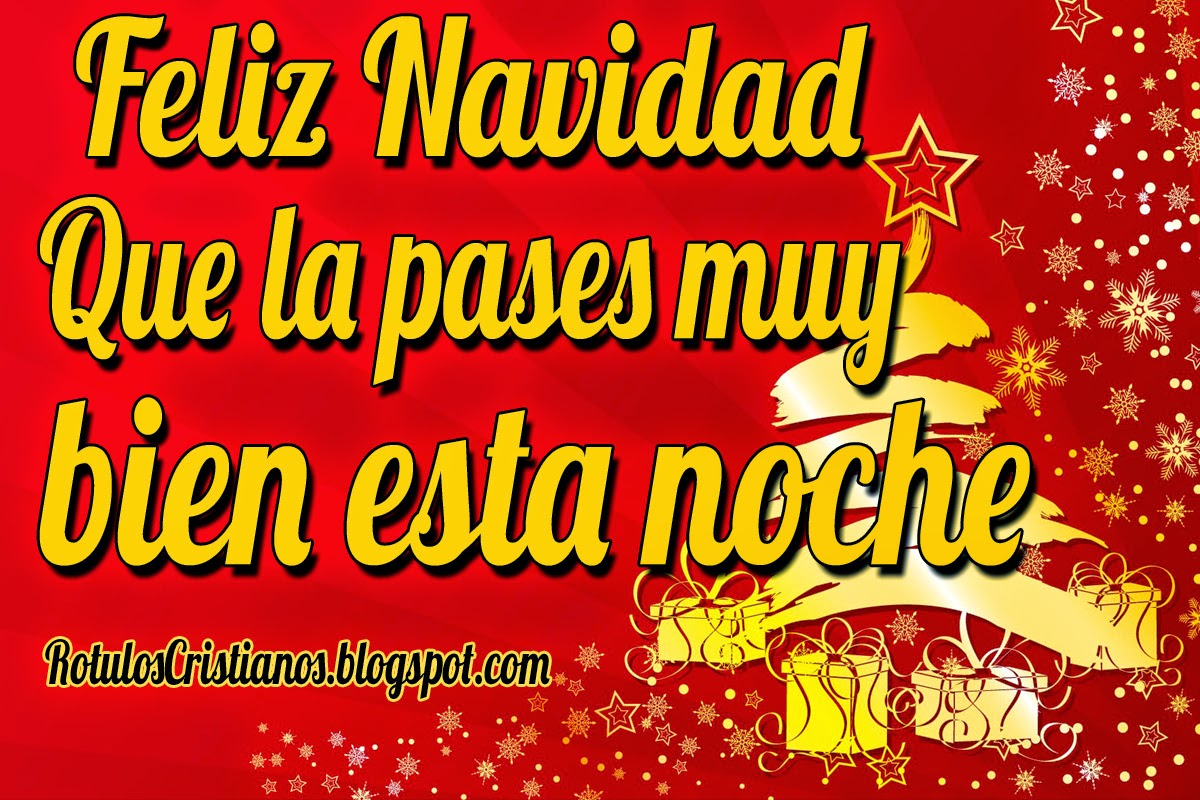 Feliz Navidad Rotulos.Feliz Navidad Que La Pases Muy Bien Esta Noche Rotulos