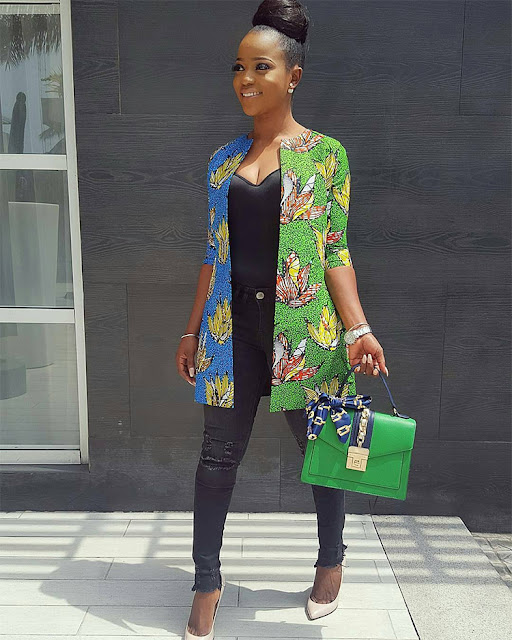 Latest Ankara jacket styles & Designs 2018