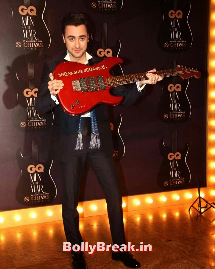 Imran   Khan, Red Carpet Pics of GQ Men Of The Year Awards 2014