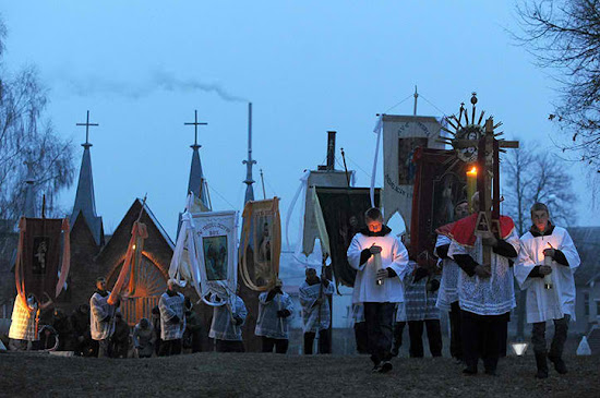 Easter Procession in Byelorussia
