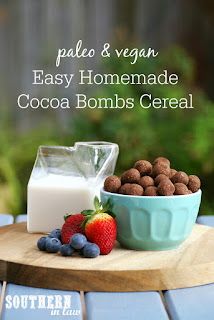 Easy Homemade Paleo Cocoa Puffs Cereal Recipe