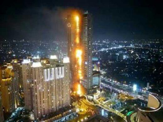Ini Penjelasan Agung Podo Moro Soal Kebakaran yang Terjadi Tadi Malam