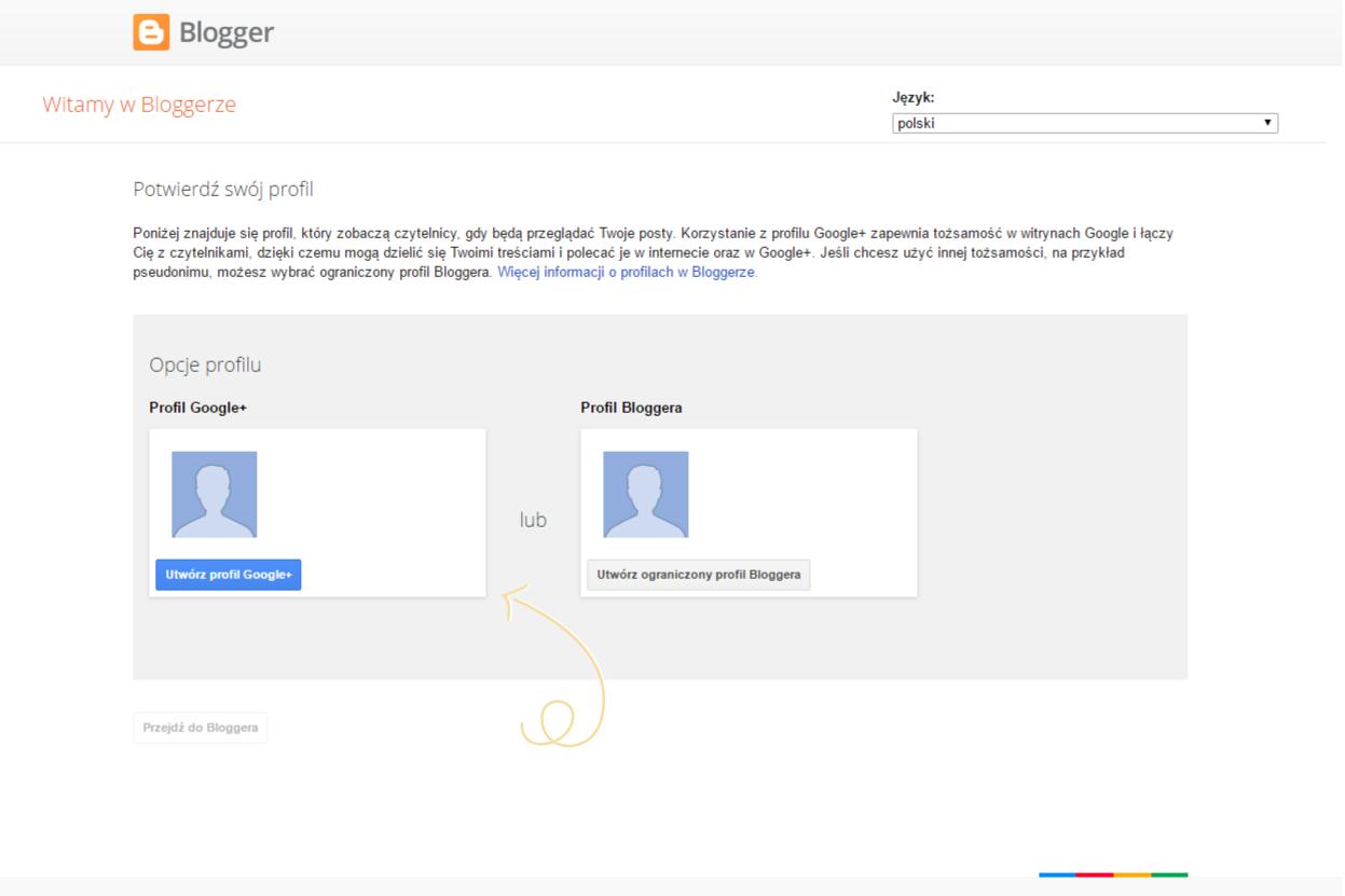 jak założyć profil google+