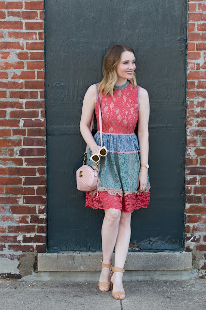alexis-vedette-lace-dress-multi-colored
