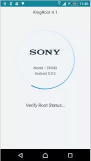 Cara ROOT Sony Xperia Z1 C6943 tanpa pc