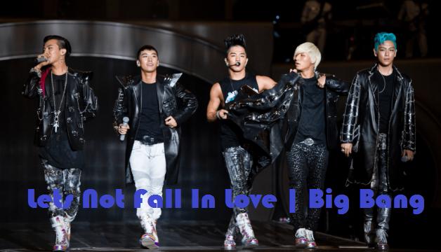Arti lirik lagu lets not fall in love