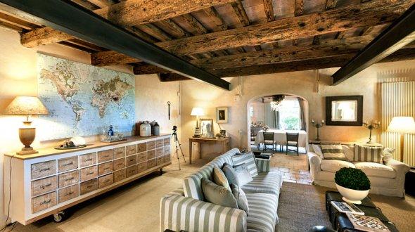Casa r stica linda decora o e inven o for Casa moderna rustica