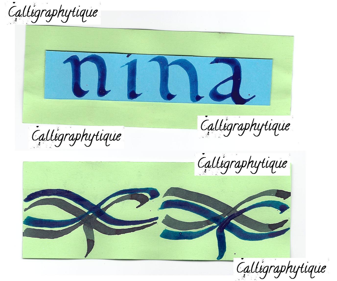 O U R D O L L H O U S E In 2019: Calligraphytique: Marque Page Calligraphié