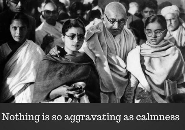 Mahatma Gandhi ON SEEKING ANSWERS WITHIN