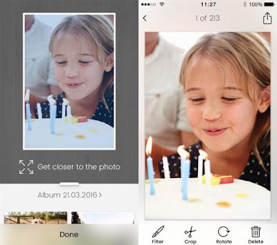 Unfade, Scan Foto Yang Lama Dengan Aplikasi Ini
