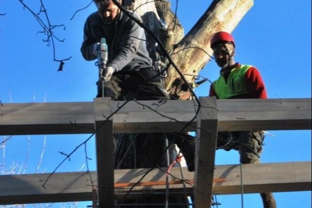 Come costruire una casa sull 39 albero il fai da te for Kit per costruire casa sull albero