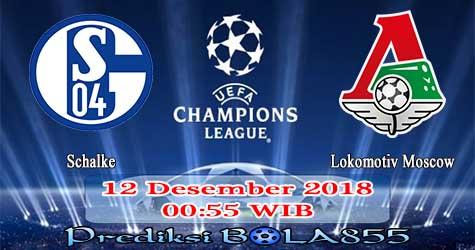 Prediksi Bola855 Schalke vs Lokomotiv Moscow 12 Desember 2018