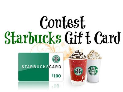 $100 Starbucks Gift Card