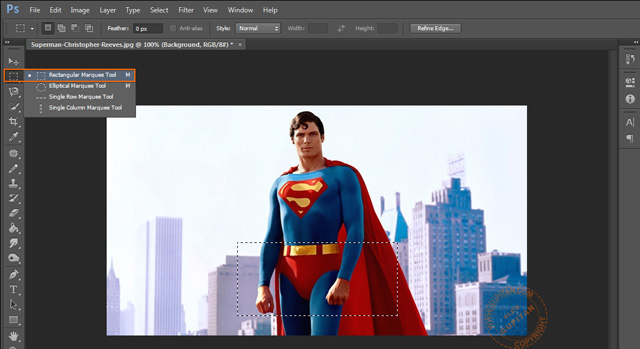 Membuat Efek Sensor pada Foto atau Gambar di Photoshop