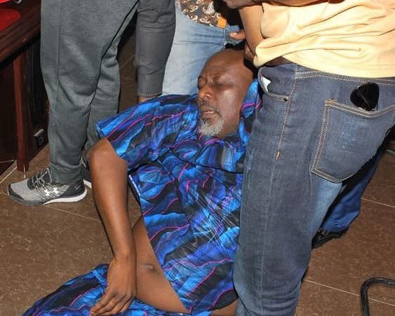 Dino Melaye is being held in very unhealthy circumstances by the police, his BP is steadily on the rise and currently 150/110 - Ben Bruce cries out