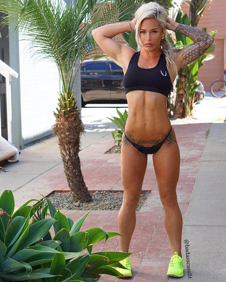 Australian Fitness Model Cassie