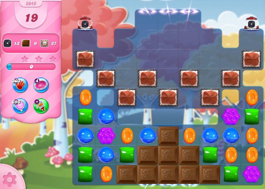 Candy Crush Saga level 3049