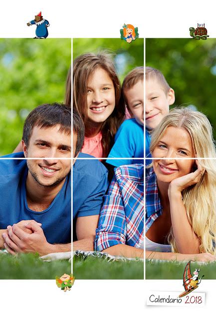 Copertina Calendario bimestrale 30x45 per bambini