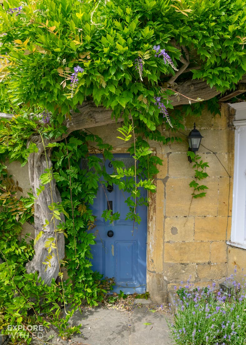 Beautiful old doors of The Cotswolds