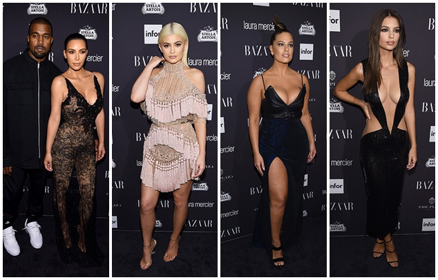 Kim Kardashian, Pamela Anderson, Maria Sharapova and many others at the party Carine Roitfeld