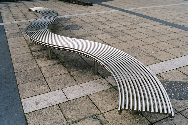 London bench Peckham Library Will Alsop
