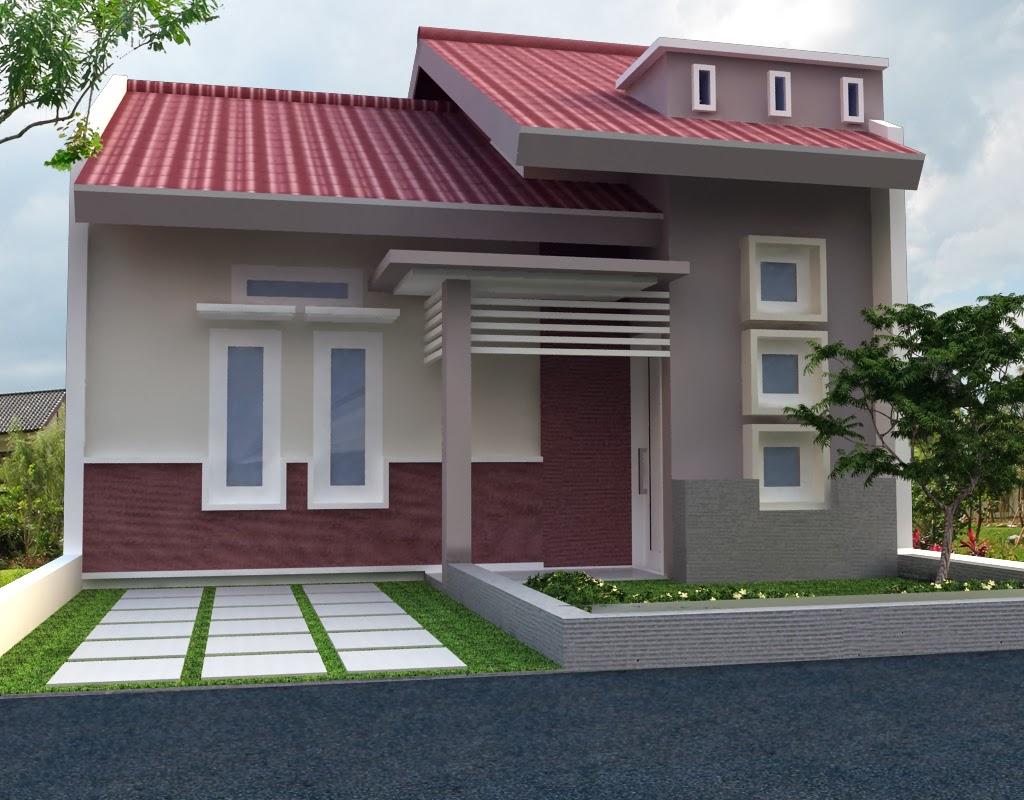 101 Denah Rumah Minimalis Modern Lantai 1 Gambar Desain Rumah