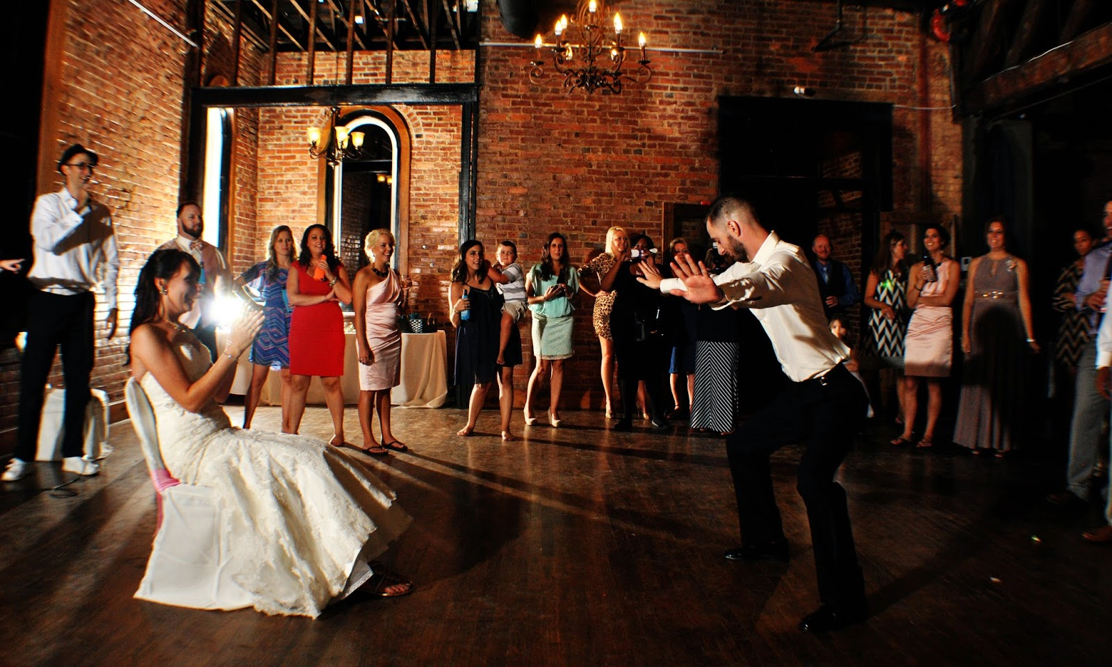 With Class LLC Wedding Coordination Party DJ - The Church on Main - Chattanooga, TN - DJ Mark