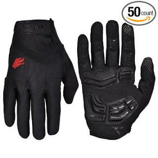Firelion outdoor gel touchscreen cycling-gloves mountain bike bicycle MTB-DH downhill off road gloves review