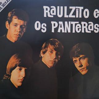 """Capa do disco """"Raulzito e Os Panteras"""", de 1968"""