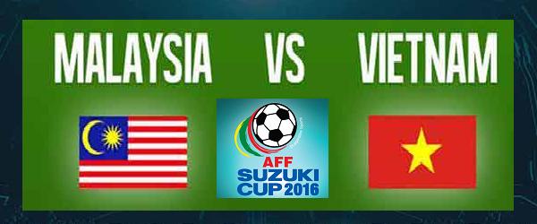 Keputusan terkini Malaysia Vs Vietnam Piala AFF Suzuki 2016