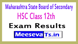 Maharastra HSC Class 12th Exam Results 2017