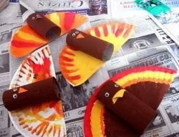 Cara Membuat Kerajinan Tangan Sederhana, Membuat Mainan Ayam Kalkun 5