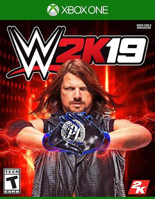Wwe 2k19 Game Cover Xbox One Standard