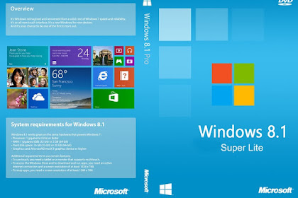 How to Download and Using Windows 8.1 Super Lite on PC Laptop