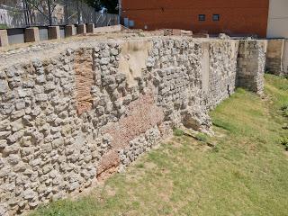 Restos de la Muralla Musulmana en Madrid