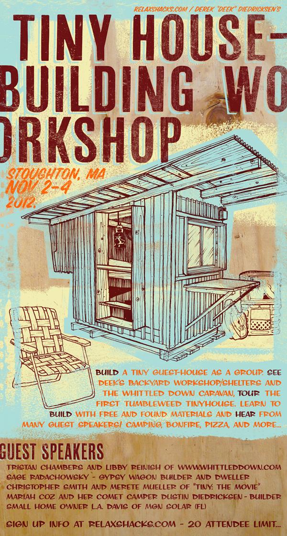 Relaxshacks Tiny House Building Workshop 3