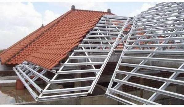 baja ringan kencana kediri flamboyant galvalum garden rangka atap harga