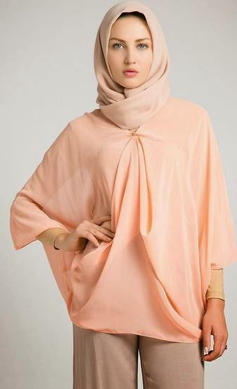 Model Busana Atasan Muslim Modern