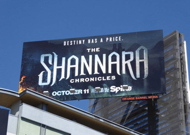 Shannara season 2 billboard