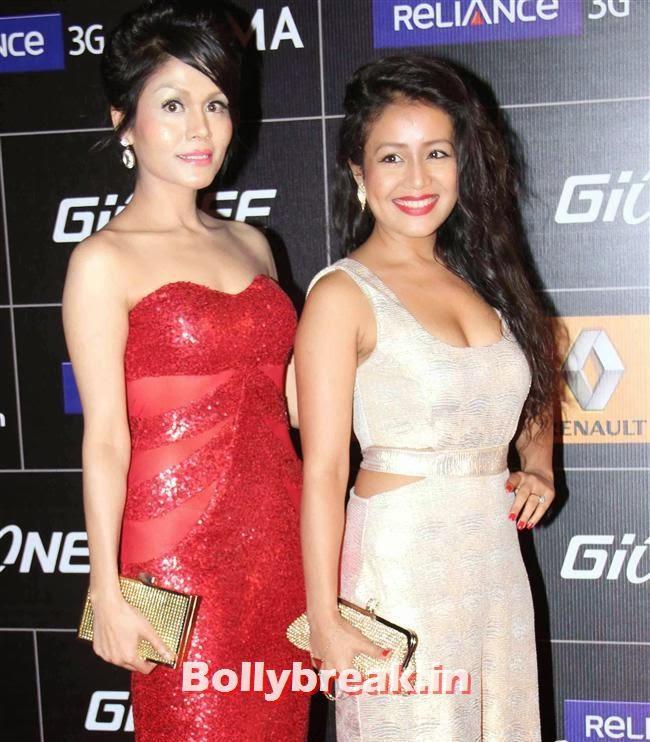 Sonu and Neha Kakkar, Global Indian Music Awards 2014 Pics
