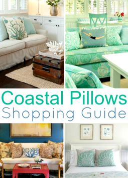 Coastal Beach Nautical Pillows Shopping Guide