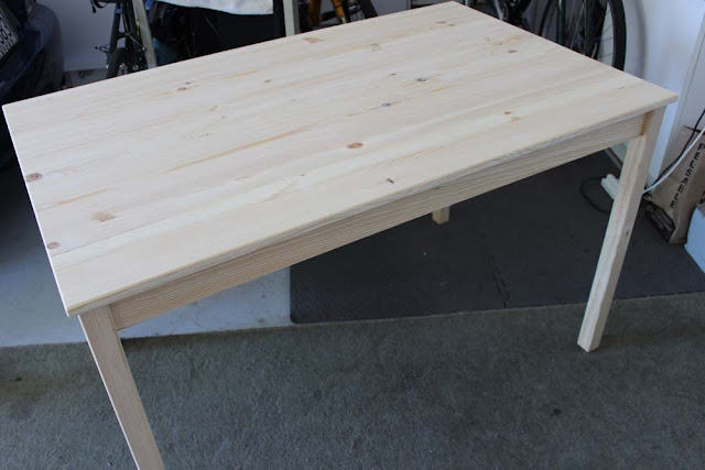 Ikea Ingo table unfinished