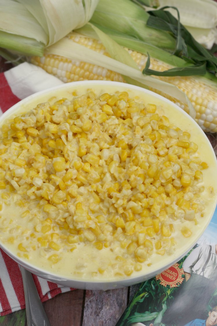 Homemade Creamed Corn | Secondhand Lions #FoodnFlix