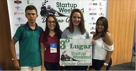 Startup Weekend premiou estudantes empreendedores em Delmiro Gouveia