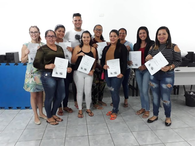 Assistência Social de Umbuzeiro realiza Minicurso de Design de Sobrancelhas