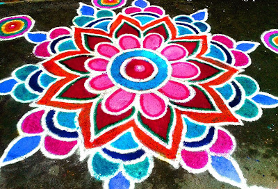 Happy New Year 2017 Rangoli Design