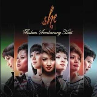 She - Jatuh ( Karaoke )
