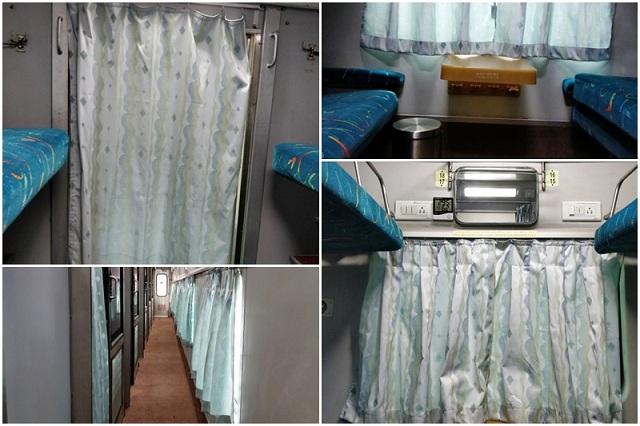 Rajdhani Express Improved Interiors